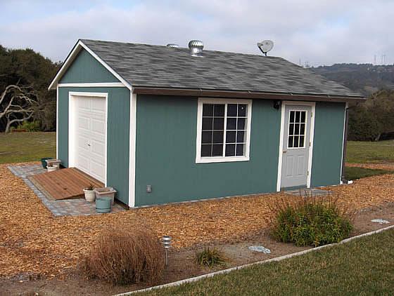 California custom sheds 20x20 truss package for 20x20 garage
